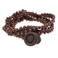 nice DIY Bijoux - How to: Cinnamon Bark Wrap Bracelet | Beadaholique Check more at https://listspirit.com/diy-bijoux-how-to-cinnamon-bark-wrap-bracelet-beadaholique/