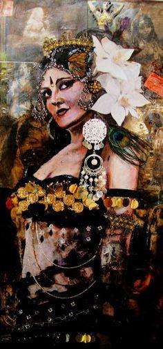 Artist Stephanie Bolton - Moria Chappell portrait