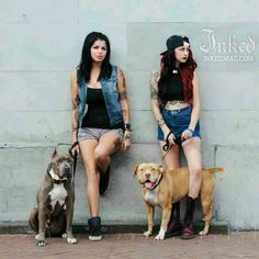 Sisters Mariah & Tania from Pitbulls and Parolees - favorite show atm, had me in tears every episode haha