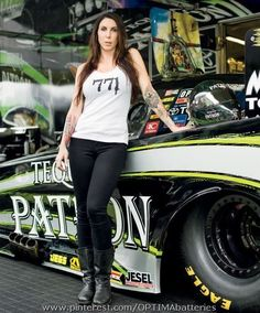 Be sure to catch the interview with OPTIMA-sponsored @Team Kalitta @NHRA Funny Car Racer, Alexis DeJoria in the August 2013 issue of Inked Magazine