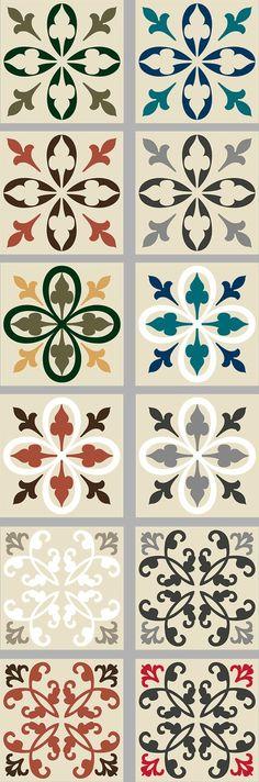 #cuisine #décoration #salledebain #relooking #adhésif #stickers #carreauxdeciment #motif #carrelage #surmesure