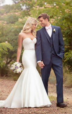 New Bridal Gown Available at Ella Park Bridal   Newburgh, IN   812.853.1800   Essense of Australia - Style D2202