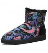 Classic Mini Ugg Boots - Camouflage Black $169.99 http://www.theonfoot.com