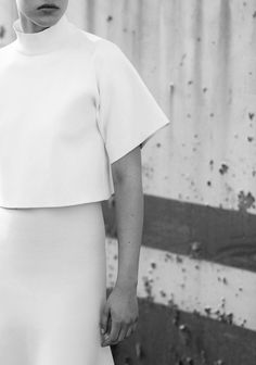 Chic Simplicity - minimal fashion photography // Ph. Ben Weller for Muse #35