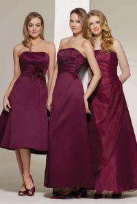 Bride maids dress's