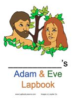 Adam & Eve - Instructions & free printables on making an Adam & Eve lapbook