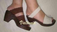 Zapatos Crochet... Valtonia... - Tigre - Ropa - Accesorios