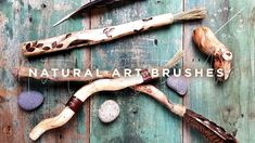Early Registration Pricing Open | Natural Art Brushes with Leslie Rottner Wood Burning Tool, Large Painting, Mark Making, Art Tips, Art Techniques, Mixed Media Art, Art Supplies, Brushes, Journals
