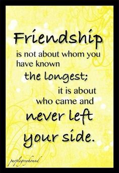 Friendship can be measured