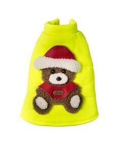 Little Bear Fluorescent Christmas Jacket - Yellow