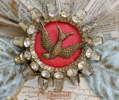 Artful Affirmations: Mixed Media Mary Shrine