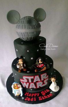 Disney's  mickey and friends Star wars
