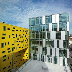 La Cite Des Affaires MANUELLE GAUTRAND ARCHITECTURE  #architecture - ☮k☮