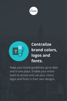 Canva for Work: create a brand kit and make an even better brand. https://about.canva.com/work/