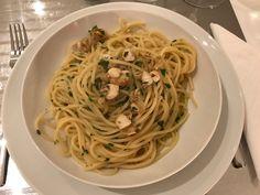 Spaghetti con canestrelli !!!