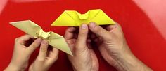 How To Fold An Origami Bat - Art for Kids Hub