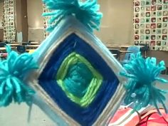 Ojos de Dios tutorial We made these last year, and they loved them!