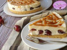 Torta+Fredda+alla+Ricotta+e+Ciliegie
