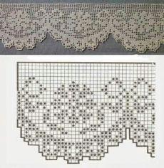 Crochet Lace Edging, Crochet Motifs, Crochet Borders, Crochet Stitches Patterns, Thread Crochet, Crochet Trim, Love Crochet, Crochet Doilies, Crochet Flowers