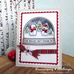 Christy Gets Crafty: Ready Set Snow - A Very Fawny Holiday Week!