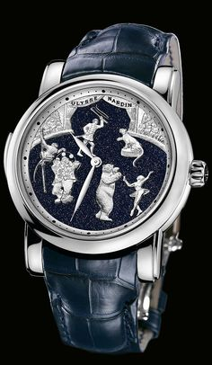 740-88 - Circus Aventurine Minute Repeater - Exceptional - Welcome to the Ulysse Nardin collection - Ulysse Nardin - Le Locle - Suisse - Swiss Mechanical Watch Manufacturer