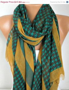Hey, I found this really awesome Etsy listing at https://www.etsy.com/listing/92136139/spring-mustard-black-cotton-scarf-shawl