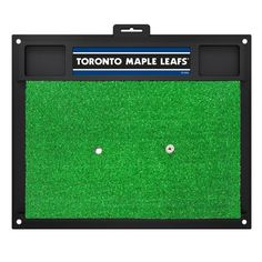 NHL - Toronto Maple Leafs 20 in. x 17 in. Golf Hitting Mat