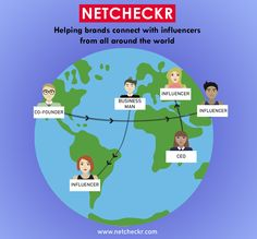 Get in touch with different #Branding #Influencers through NETCHECKR for content promotion. We are here to tell you, your influence worth and increase the #BrandAwareness among the different people.
