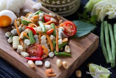 corn som tam with shrimp recipes dishmaps som tam thai goong sod som ...