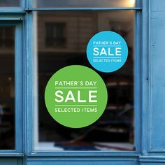 S day sale retail display sign removable window father' Shop Window Displays, Store Displays, For Sale Sign, Sale Signs, Healthy Preschool Snacks, Fathers Day Sale, Budget Organization, Postnatal Workout, Fun Worksheets