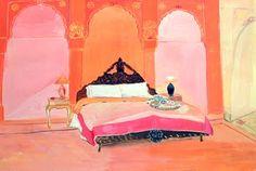 Maira Kalman - love color combo
