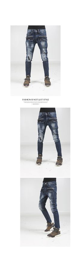 K-POP Men's Fashion Style Store [TOMSYTLE]  rap Washing damage Skinny PT / Size : S,M,L / Price : 70.66 USD #dailylook #dailyfashion #casuallook #tops #bottom #pants #jeasn #skinnypants #skinnyjeans #denim #unique #TOMSTYLE #OOTD  http://en.tomstyle.net/ http://cn.tomstyle.net/ http://jp.tomstyle.net/