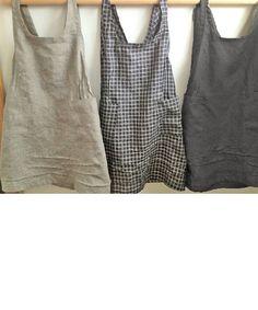 linen throw...needs more length but love the design - no buttons, no zippers…