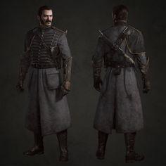 Character Modeling, Game Character, Character Concept, Concept Art, Dark Fantasy, Medieval Fantasy, Fantasy Art, Fantasy Castle, Arno Victor Dorian