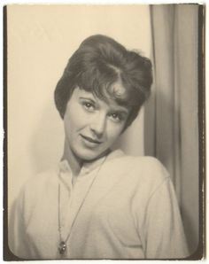 ** Vintage Photo Booth Picture **   Reminds me of Sandra Dee