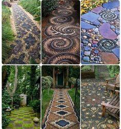 Mozaikové chodníky