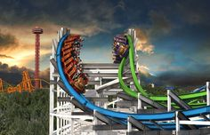 """""""Twisted Colossus"""" replacing iconic Colossus at Six Flags Magic Mountain"""