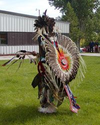 From Chief Dull Knife College in Lame Deer, Montana - they have an active Native American language program, helping to save the Cheyenne language. http://www.cdkc.edu/#