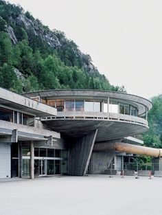 Norsk Hydro, architect Geir Grung