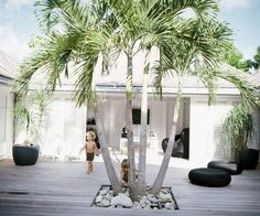 beach house Spanish interior designer Cristina Rodriguez has taken a Normandy manor in Saint Barth Outdoor Rooms, Outdoor Living, Outdoor Areas, Indoor Outdoor, Exterior Design, Interior And Exterior, Spanish Interior, Japanese Interior, Timber Deck