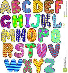 Colorful Alphabet Royalty Free Stock Image - Image: 26620626