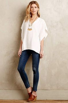 Linen Kimono Top - anthropologie.com #anthrofave #anthropologie