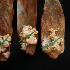 This recipe for creamy and piquant salmon tartare comes from Jeremy Marshall, the owner of New York's Aquagrill restaurant.