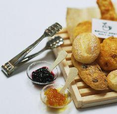 *トング&ジャム* - *Nunu's HouseのミニチュアBlog*           1/12サイズのミニチュアの食べ物、雑貨などの制作blogです。