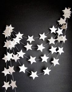 A personal favourite from my Etsy shop https://www.etsy.com/uk/listing/471982466/christmas-garland-bunting-white-star