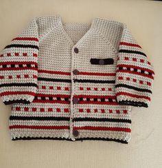 Hırka Knitting For Kids, Baby Knitting, Crochet Baby, Knit Baby Sweaters, Men Sweater, Kids Patterns, Knitting Patterns, Afghan Stitch, Baby Alive Dolls