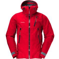 Norrona : Trollveggen-jacket Red   Sumally