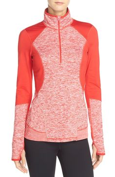 Loving this half-zip Zella jacket in bright colors. It's the perfect essential for working out on breezy days.