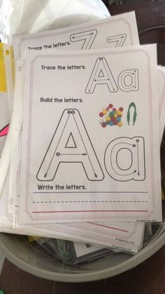 Let's Hear It For The Kindergarten Freebies! Preschool Learning Activities, Kindergarten Writing, Preschool Printables, Alphabet Activities, Alphabet Worksheets, Super Hero Activities, Alphabet Templates, Handwriting Worksheets, Free Worksheets