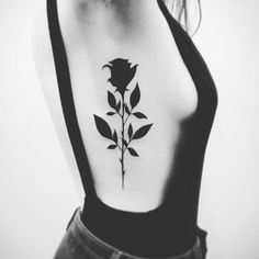 Do you want to get black rose tattoos? I tolk about black rose tattoo designs and meanings. Trendiest rose tattoo ideas for men and women. Trendy Tattoos, Sexy Tattoos, Body Art Tattoos, Small Tattoos, Tattoos For Guys, Cool Tattoos, Temporary Tattoos, Tribal Tattoos, Tatoos